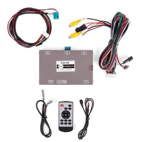Адаптер подключения камеры переднего вида для BMW с системой CIC- HIGH(NBT) Превью 3