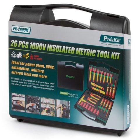 Набор диэлектрического инструмента Pro'sKit PK-2809M