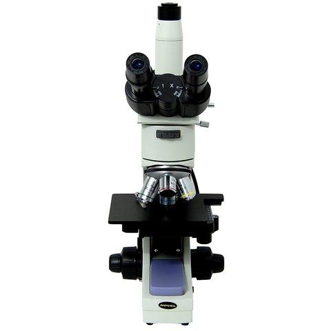 Промисловий тринокулярний мікроскоп NJF-120A Прев'ю 1