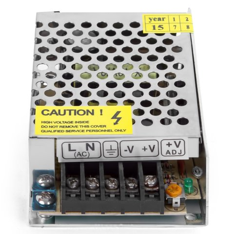 Блок живлення для світлодіодних стрічок 12 В, 2 А (25 Вт), 110-220 В Прев'ю 1