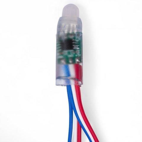 Світлодіодний піксель RGB (50 шт., WS2811, DC 5 В, 12 мм, IP68)