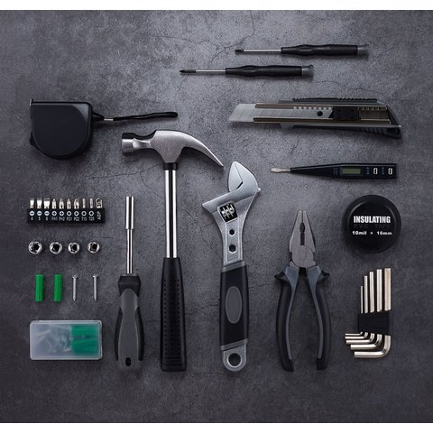 Набір інструментів Xiaomi Jiuxun Tools Toolbox Pro для дому (60 шт.) Прев'ю 7