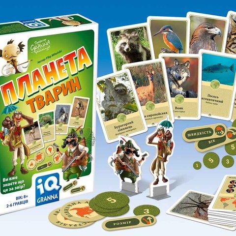 Настільна гра Granna IQ Планета тварин Прев'ю 1